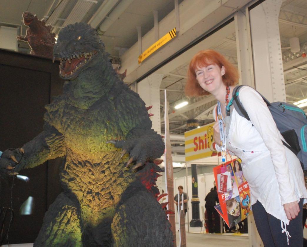 Paula and Godzilla