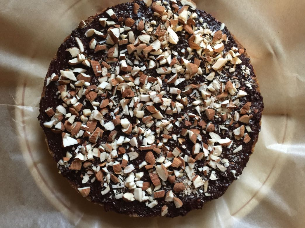 Almond choclate cake