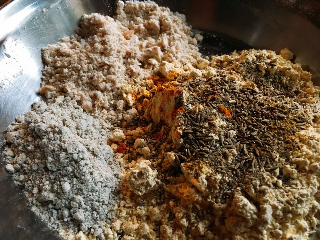 Flour and spice mix
