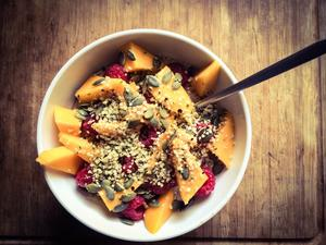 Mango slow porridge