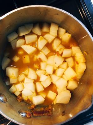 Cooked mooli