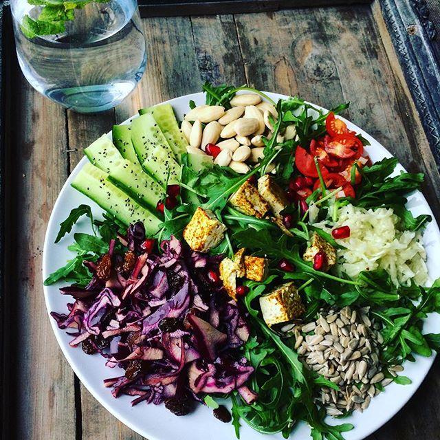 vegan tofu salad