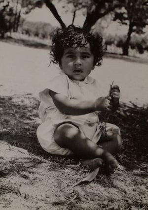 Rajiv about 6 months old